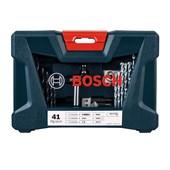 Kit de Brocas e Bits V-Line com 41 Peças 2607017396 BOSCH