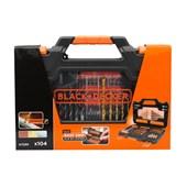 Kit de Ferramentas para Furar e Parafusar 104 Peças A7230-XJ BLACK + DECKER
