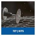 Kit de Lixar e Afiar para Micro Retífica com 31 Peças 26150727AB DREMEL