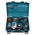 "Kit Furadeira/ Parafusadeira de Impacto 1/2"" 2 Baterias 18V + Acessórios Bivolt DHP482RAE-P MAKITA"