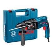 Kit Martelete Perfurador/Rompedor 24mm 820W BOSCH + Adaptador SDS Plus com Mandril BOSCH + Jogo de Brocas Golden 5 a 10mm MTX