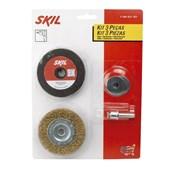 Kit para Polir e Afiar para Furadeiras F000631057 SKIL