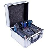 Kit Parafusadeira GSR 120 LI e Chave de Impacto GDR 120 LI 12V Bivolt 2 Baterias e Maleta BOSCH