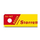 Lâmina de Serra Tico Tico Bimetal para Pneumáticas 13 mm 5 Peças BS229-5 STARRETT