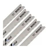 Lâmina de Serra Tico-Tico para Metal 67mm 5 Peças T118A 2608668145 BOSCH