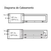 Lâmpada Fluorescente Tubular 54W 6500K SMARTLUX T5 HO OSRAM