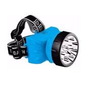 Lanterna para Cabeça Recarregável 12 LEDS 722B DP LED