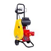 Lavadora de Alta Vazão Móvel Trifásica 400 Libras 24 L/h 2cv Fixa com Mangueira e Carrinho BH-6100 HIDROMAR