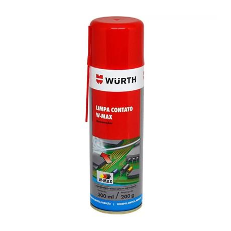Limpador de Contatos Elétricos Spray W-Max 300 mL 089365211 WURTH