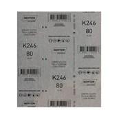Lixa para Ferro Grão 80 Folha 225X275mm K 246 NORTON