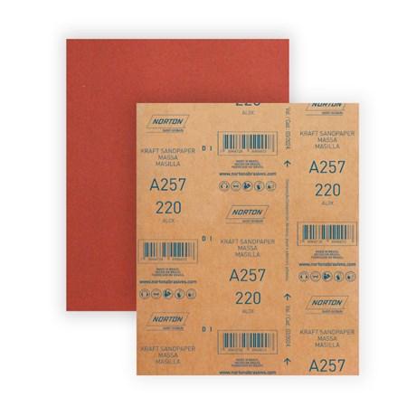 Lixa para Massa Grão 220 Folha 225X275mm A 257 NORTON