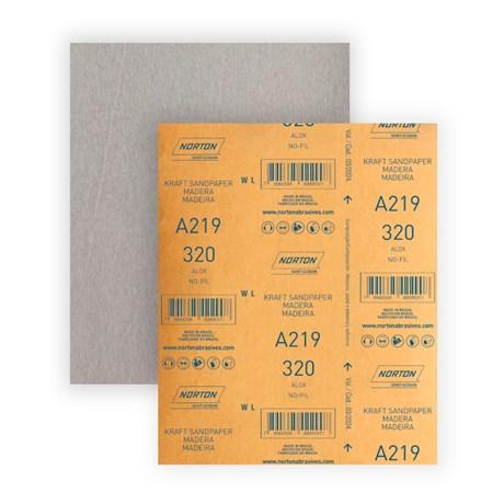 Lixa para Verniz Grão 320 Folha 225X275mm A 219 NORTON