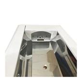 Luminária Fluorescente de Embutir 2x28/32/40/54W com Refletor Polido CRA 302 INDELPA