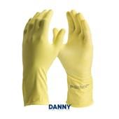 Luva de Latex Amarela DA299 CONFORT DANNY