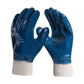 Luva Nitrilica Forrada Punho Malha 9.5 Azul DA26602-M LIGHTFLEX DANNY