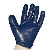 Luva Revestida em Látex Nitrílico Azul NITRILI-KA 30 KALIPSO