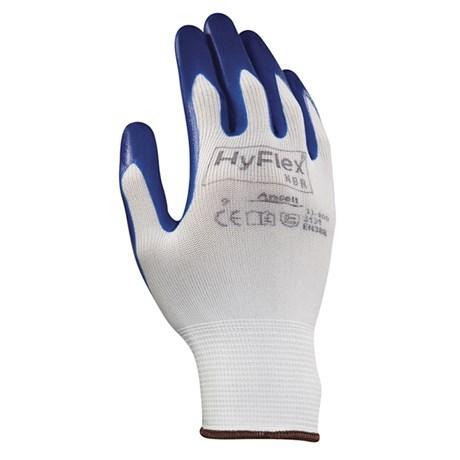 Luva Tricotada Nylon Revestida Latex Nitrilico 11-900 HYFLEX ANSELL