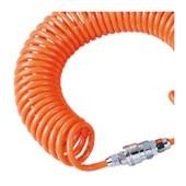 """Mangueira Espiral 1/4"""" para Ar Comprimido com Engate Rápido AA-5810 PUMA"""