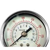 """Manômetro de Pressão 1/4"""" MAND-50A PUMA"""