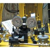 Manômetro Hidráulico de Pressão 700 Bar Face de 100mm G4039L ENERPAC