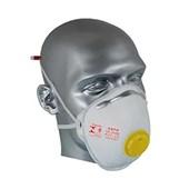 Máscara Respiratória com Válvula Descartável PFF2 Tipo Concha Absolute AIR SAFETY
