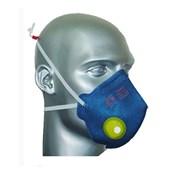 Máscara Respiratória com Válvula Dobrável Descartável PFF1 AIR SAFETY