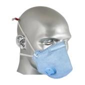 Máscara Respiratória com Válvula Dobrável Descartável PFF2VO AIR SAFETY