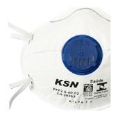 Máscara Respiratória com Válvula tipo concha PFF2 para Poeiras 40.02 KSN