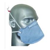 Máscara Respiratória Dobrável Descartável PFF2VO AIR SAFETY