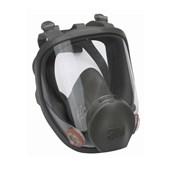 Máscara Respiratória Facial Inteira Reutilizável Média Série 6800 3M