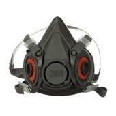 Máscara Respiratória Semifacial Reutilizável Grande 6300 3M