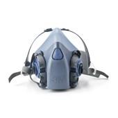 Máscara Respiratória Semifacial Reutilizável Média Série 7502 3M