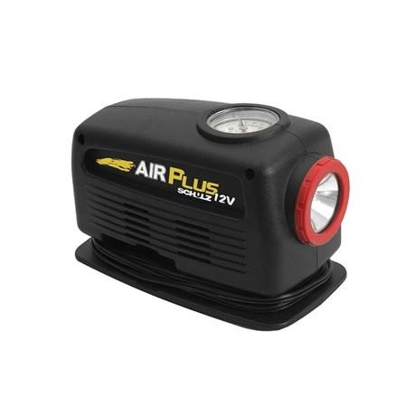 Mini Compressor de Ar com Lanterna 12V Air Plus 12V Mini SCHULZ