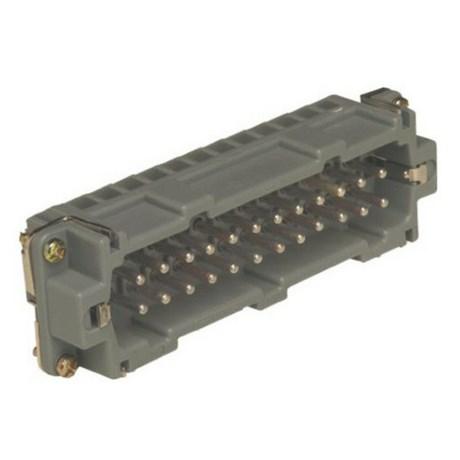 Miolo Macho para Carcaça 6P 16A 600V SMP06 STECK