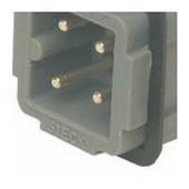 Miolo Macho para Carcaça com Parafuso 4P 10A 250V SDMM04P STECK