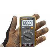 Multímetro Digital 600/600V AC/DC CAT III 107 FLUKE
