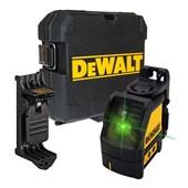 Nível a Laser 2 Linhas 15 Metros com Suporte Verde DW088CG-LA DEWALT