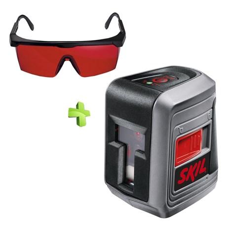 a9e7f03cb6634 Nível a Laser Automático de Linhas 0511 Skil + Óculos para Visualização  Laser Bosch
