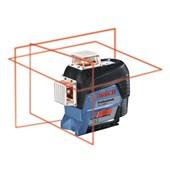 Nível a Laser com 3 Linhas 80 Metros GLL3-80 C BOSCH