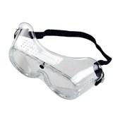 Óculos de Segurança Ampla Visão Perfurado Incolor 012130712 CARBOGRAFITE