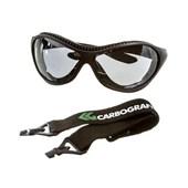 Óculos de Segurança Incolor Haste Removível e Elástico SPYDER CARBOGRAFITE