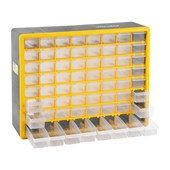 Organizador Plástico para Ferramentas com 64 Bandejas OPV 310 VONDER