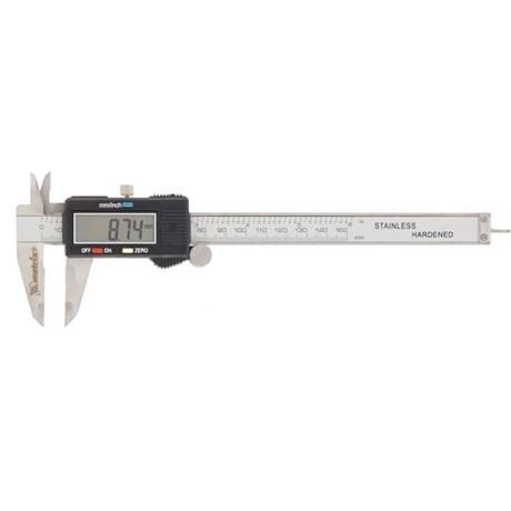 "Paquímetro Digital 150mm/6"" 0,01mm 316119 MTX"