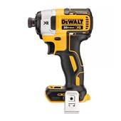 """Parafusadeira de Impacto 1/4"""" Brushless sem Bateria e Carregador + Kit Ferramentas DCF887B-B3 DEWALT"""