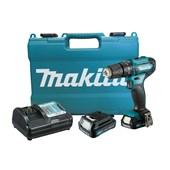 """Parafusadeira de Impacto 3/8"""" 2 Baterias 12V com Maleta Bivolt HP333DWYE MAKITA"""