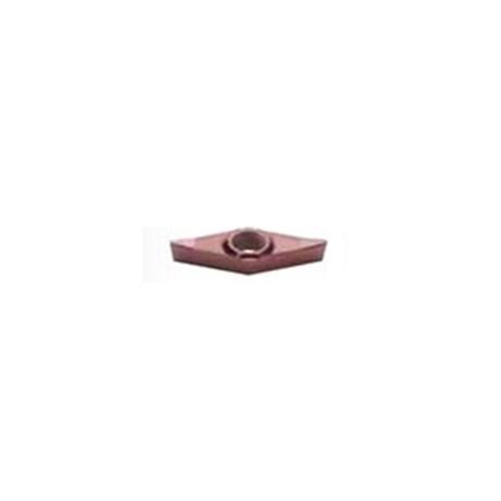 Pastilha Metal Duro Torneamento para Aluminio Raio 0,8mm VCGT1604 WALTER