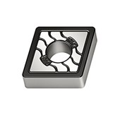Pastilha Metal Duro Torneamento para Ferro Fundido Raio 0,8mm CNMA1204 WALTER