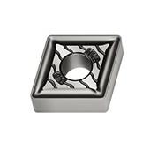 Pastilha Metal Duro Torneamento para Ferro fundido Raio 0,8mm CNMG1204 WALTER