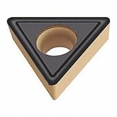 Pastilha Metal Duro Torneamento para Inox TCMT1102 Raio 0,8mm