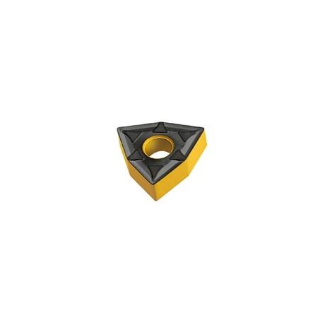 Pastilha Metal Duro Torneamento para Inox WNMG0604 Raio 0,8mm